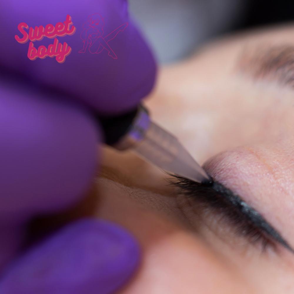 Перманентный макияж межресничка Запорожье
