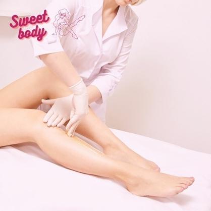 Шугаринг ноги в салоне красоты SWEETBODY Запорожье