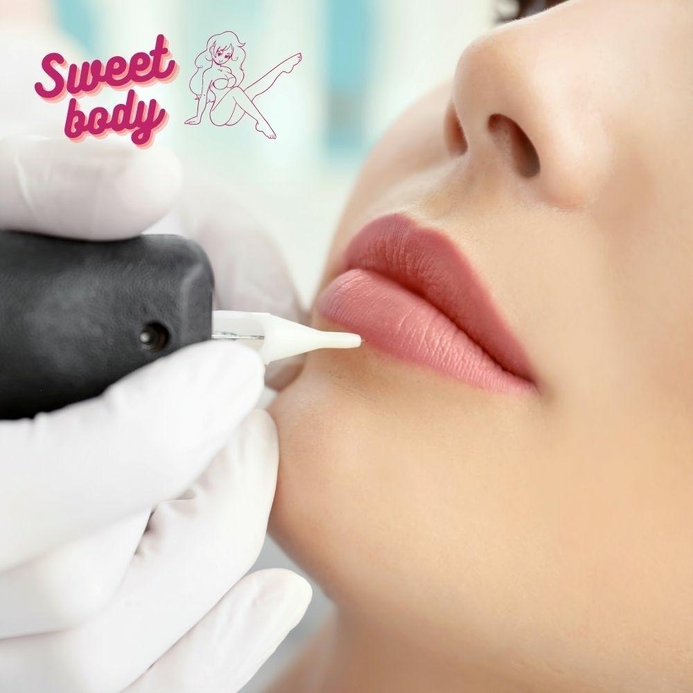 Перманентный макияж губы Запорожье